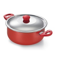 Prestige Omega Gold Series Saucepan 240mm With SS Lid