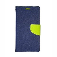 MI Redmi 3S Flip Cover Case Mercury Goospery Fancy Diary Wallet  Blue-Green