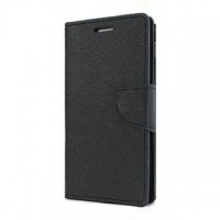 Mi Redmi Note 3 Flip Cover Case Mercury Goospery Fancy Diary Wallet Black