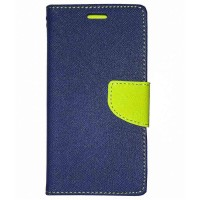 Mi Redmi Note 3 Flip Cover Case Mercury Goospery Fancy Diary Wallet  Black-Green