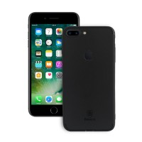 iPhone 7 Plus Back Cover Slim Matte Finish Rubberized Black Hard Back Case Cover Dust Proof