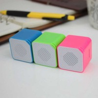 Portable Mini MP3 Player with speaker USB TF/SD Wireless Subwoofer-3.5mm Earphone Port Perfect Sound