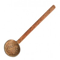 Traditional Skimmer Kannoppa - Coconut Wood and Coconut Shell   TR018