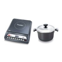 Prestige Induction Cook Top PIC 20.0 with HA Signature Caserole 240mm Induction Base